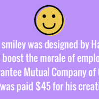 Smiley created to boost employee morale