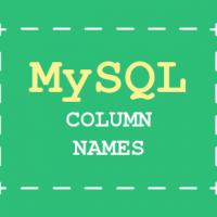 SQL lessons - Naming Columns