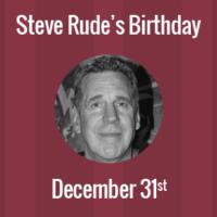 Steve Rude Birthday - 31 December 1956