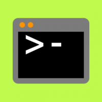 Terminal app on the Mac