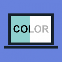 Text and background colors