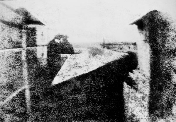 View from the Window at Le Gras photograph