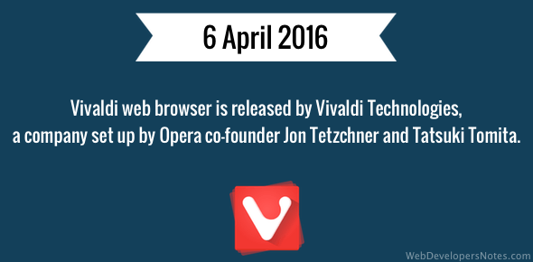 Vivaldi web browser released