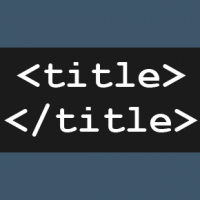 Web page titles - The HTML TITLE tag