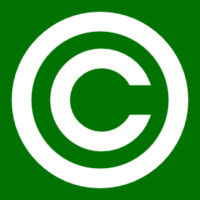 Copyright on website