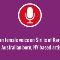 Siri Australian female voice