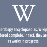 Wikipedia articles and not complete