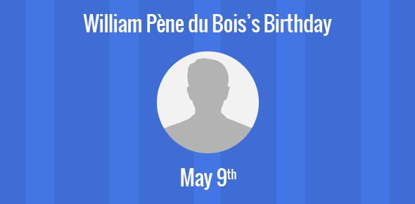 William Pène du Bois Birthday - 9 May 1916