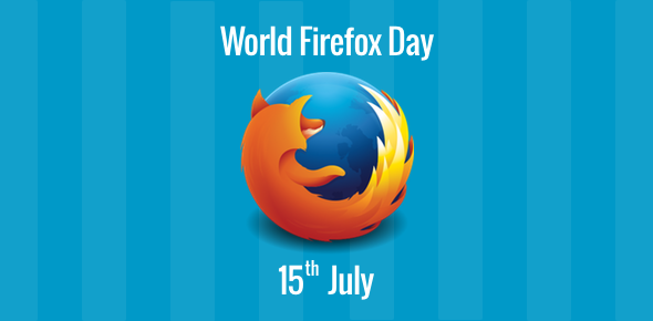 World Firefox Day - 15 July